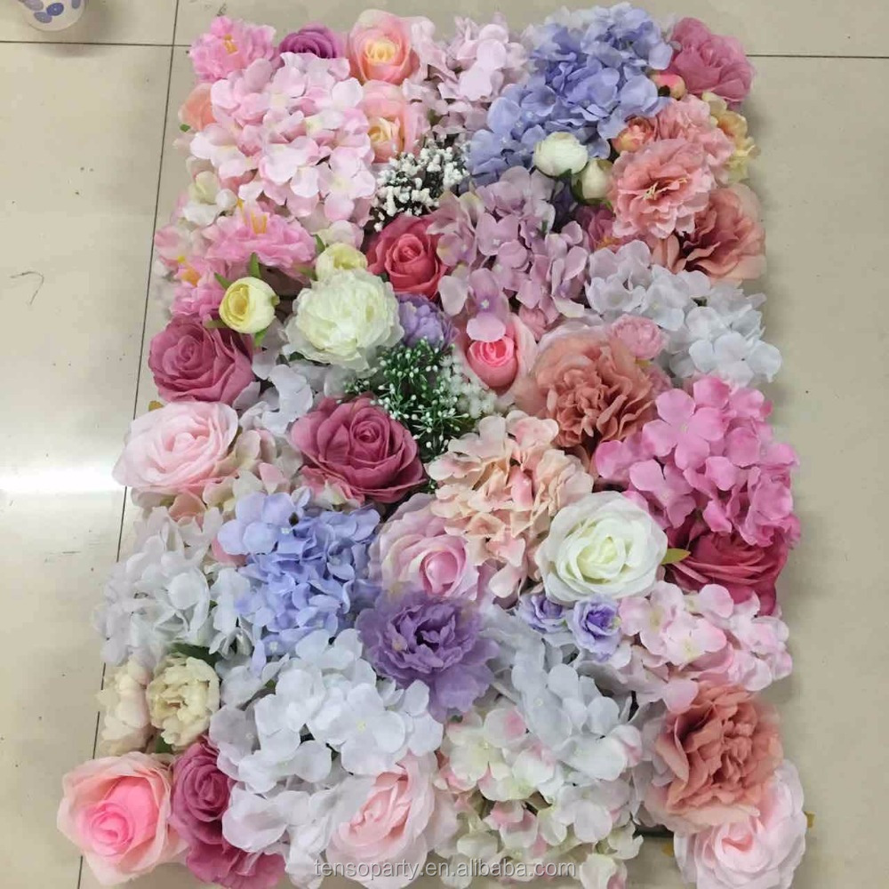 Artificial <strong>flower</strong> for wall decoration artificial <strong>flower</strong> wall wedding backdrop wall