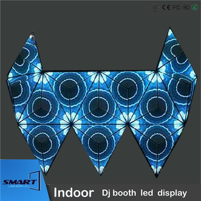 new product display video led curtain diy dj table with low price