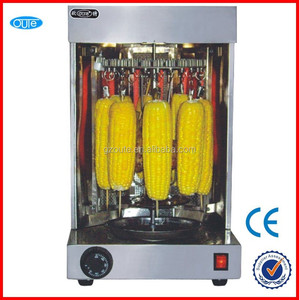 stainless steel small LPG shawarma machine for sale