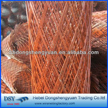 2016 copper Expanded Metal Mesh/Expanded Metal Mesh price /Cheap Expanded