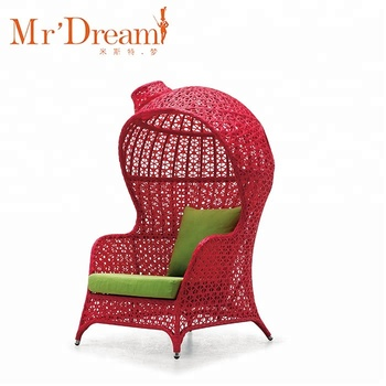 MR DREAM garden wicker synthetic rattan babylon chair