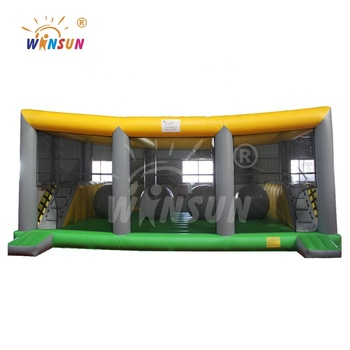 inflatable big baller wipe out inflatable big baller jumper