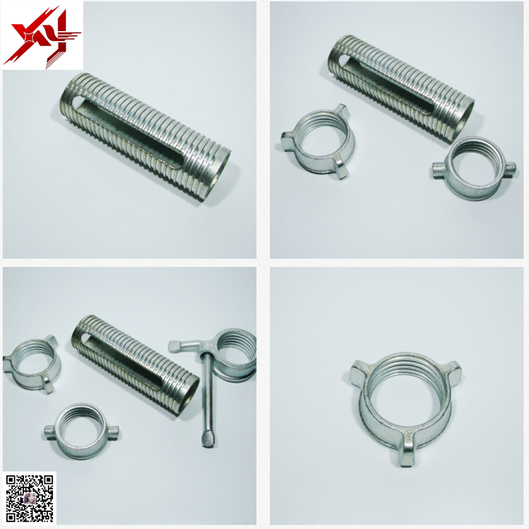 Manufacture Construction Steel Scaffolding Shoring Props Accessories/Prop Nut/Prop Sleeve