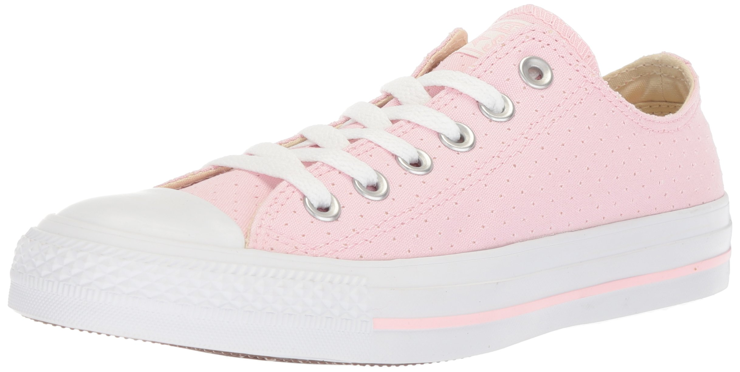 Get Quotations · Converse Women s Chuck Taylor All Star Perforated Canvas Low  Top Sneaker 352b9ffb7