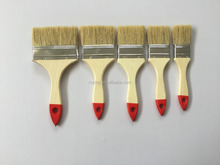 cheap wooden handle wall paint brush