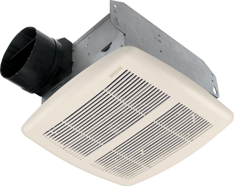 """Broan Exhaust Fan 50 Cfm 4 """", 8-1/4 """"X8 """"X5-3/4 """" 1.5 Sones White"""