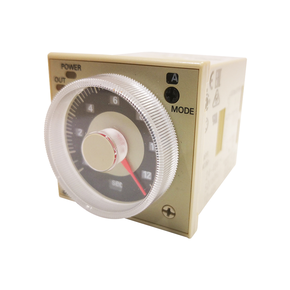 OMRON AUTOMATION H3CR-A8E 100-240VAC//100-125VDC Analogue Timer Multifunction