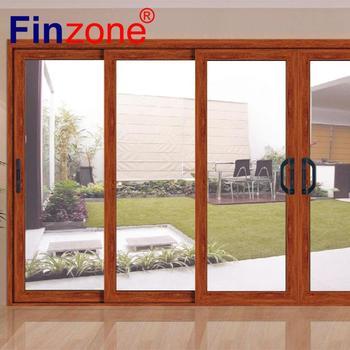 Modern Design Clical Aluminum 3 Panel Sliding Closet Doors