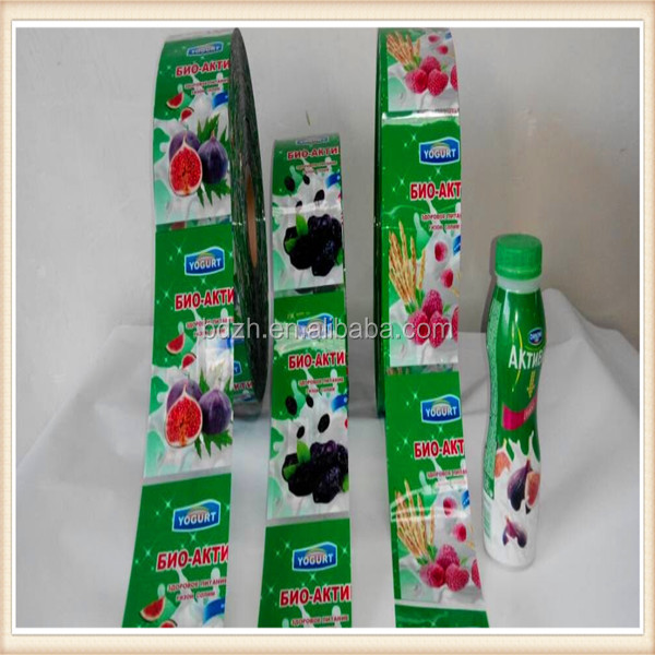 bottle shrink wrap PVC sleeves labels