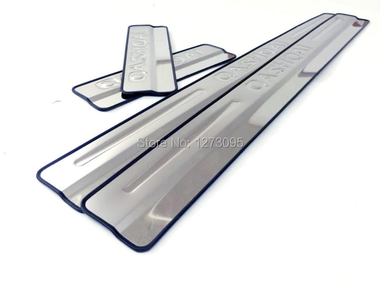 2019 Stainless Steel Scuff Plate Door Sills For 2016 Nissan Qashqai