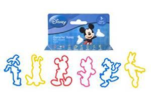 Mickey Minnie Mouse Donald Goofy Etc Disney Rubber Bands Bracelets Logo BANDZ