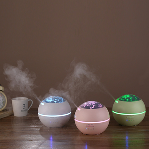 100% pure electric oil vaporizer aroma humidifIer essential oil diffuser plug in diffusers with led projector light