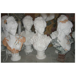 Home Decorative Female Girl Bust Statue