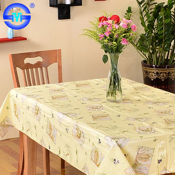 PVC Tablecloth in Roll Plastic Transparent Tablecloth Wedding Table Covers
