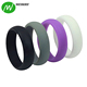 Double Debossed Silicone Wedding Ring Sport Band