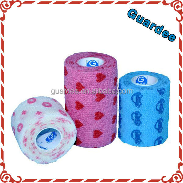 Game Custom Logo Printed Horse Self Adhesive Bandage