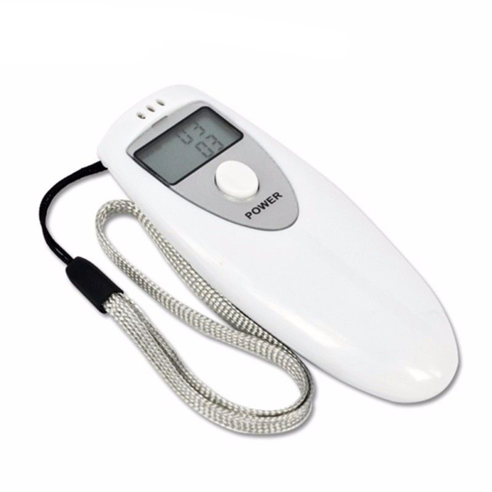 2019 LED Display Digital Portable Breath personal Breathalyzers Alcohol Tester with Mouthpiece
