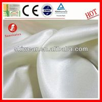 wholesale antistatic shimmer satin evening dress fabric supplier
