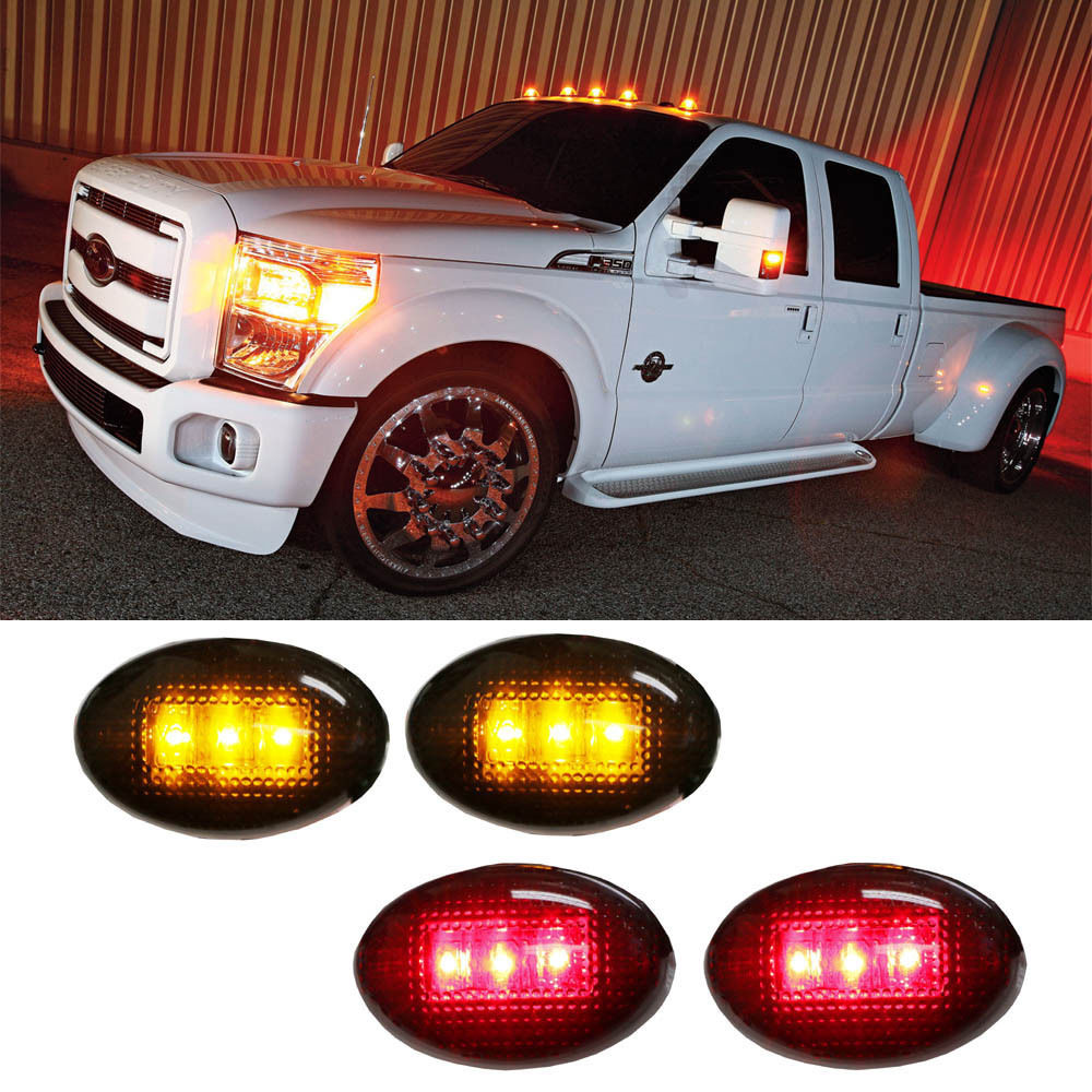 High quality CE,E4 12V accessories side marker lights for For d F150 F250