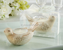 Songbird tealight holder wedding favors candles wholesale (BF718)