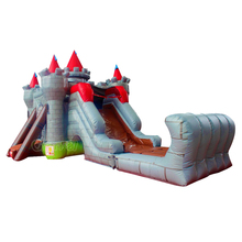 commercial inflatable jumping castle wet/dry bouncer slide for sale