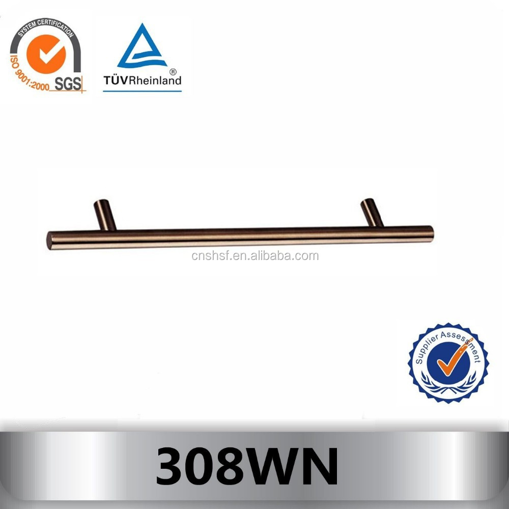 308WN stainless steel door pull handle for wooden furniture