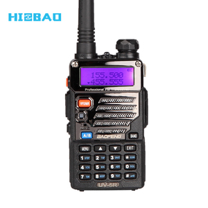 FCC CE Approved 128CH Dual Band UV-5RE Radio Ham With Flashlight and FM Radio