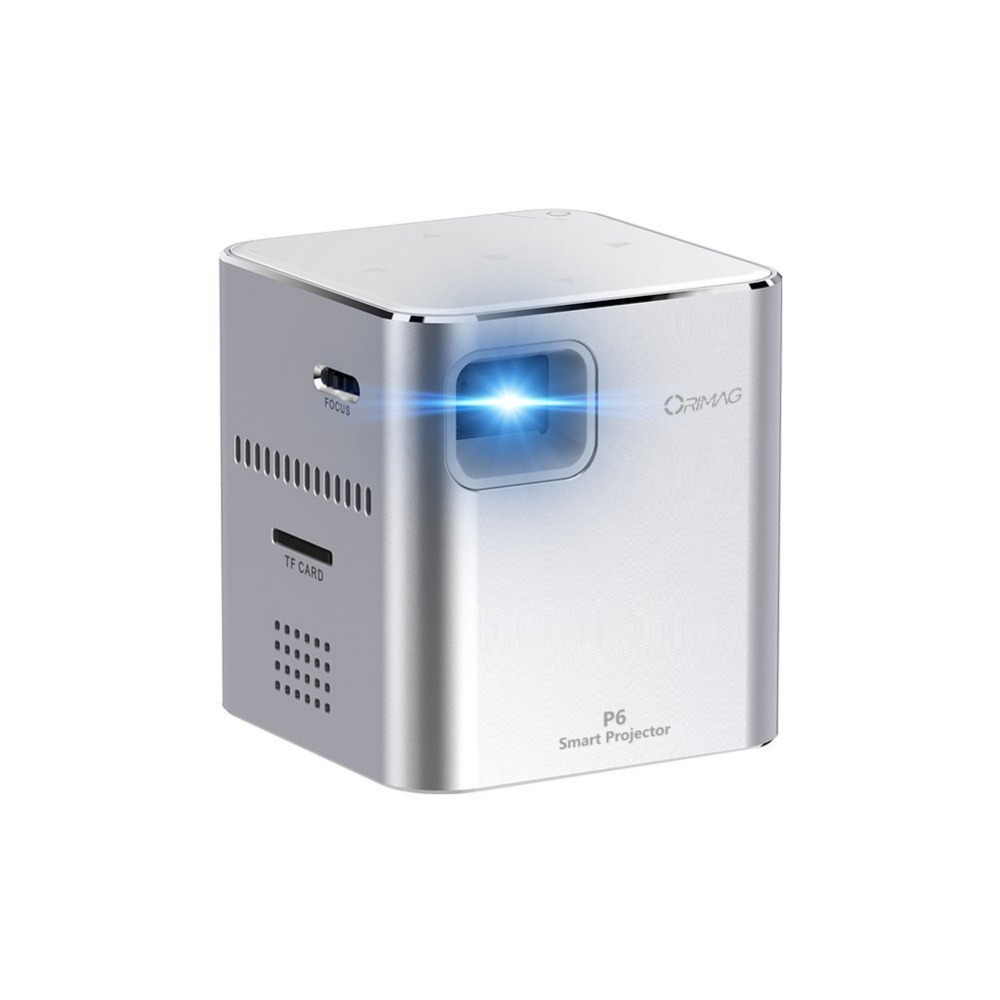 Smallest in the world mini p6 projector DLP support touch 20000 hours pocket projector with ios use for home pico projector