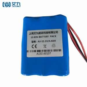 Customized Capacity 6V 12V Lithium Ion Electric Motorcycle Battery