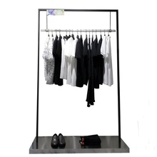 Rvs kleerhanger display rack stand