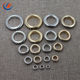 Custom Gold Silver Metal Alloy Stainless Steel Shoe Eyelets