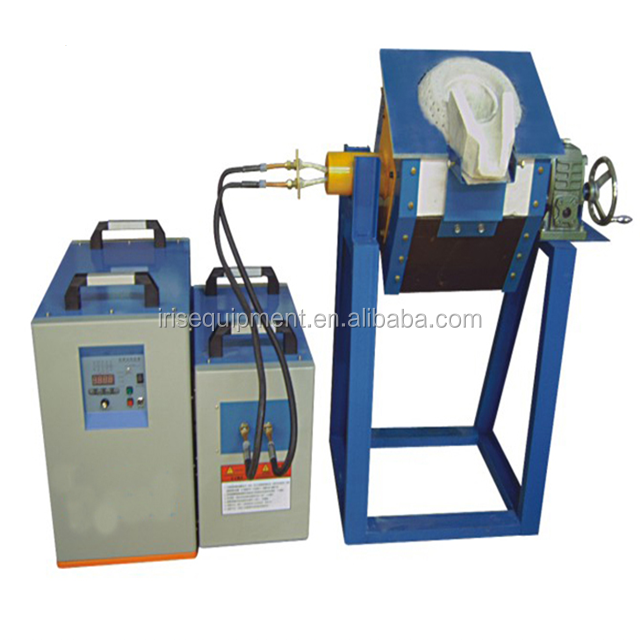 10KG iron scrap Induction smelter