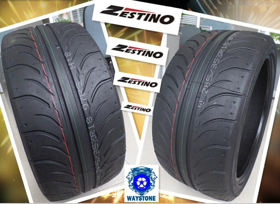 Hot Sale New Tires Zestino Semi Slick Rc Drift Car Tyre 205