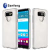 Sanfeng Transparent Clear Ultra Slim Lightweight Soft Gel TPU Case for LG G6 Cover