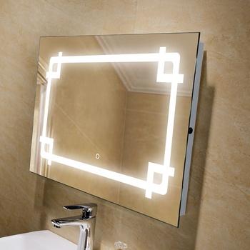 Vanity Mirror Whole Bathroom Attached Light Aluminum Frame