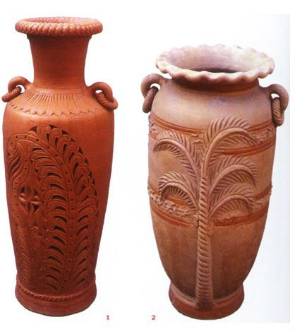 Terracotta Decorative VaseHome Decor