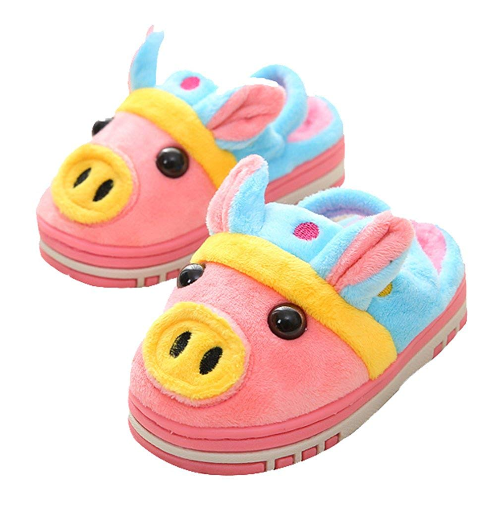 590f85c4d36 Get Quotations · C wait Animal Cute Fluffy Slippers Indoor House Warm  Slippers Toddler