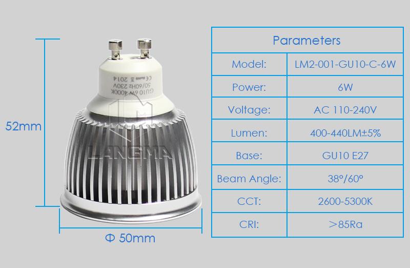 Samsung Cob Led Spot Light 6w Driverless Kitchen Ceiling Led Light ...