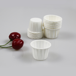 2oz paper waxed portion pots souffle cup for baking 2.5 oz cup