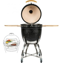 Asador Grill Kamado Barbecue Patio Commerciale <span class=keywords><strong>Uovo</strong></span> <span class=keywords><strong>Verde</strong></span> Carbone di Legna BARBECUE Grill In Ceramica Kamado Barbecue Grill & Fumatore