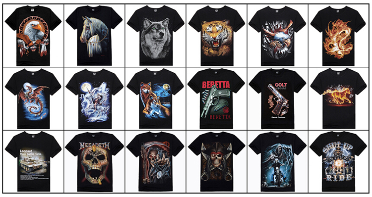 2015 latest design best selling wolf 3d t shirt buy wolf for Create and sell t shirts