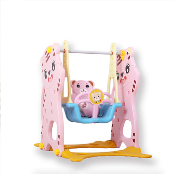 factory sell cheap price kids baby amusement park equipment small indoor safety plastic swing