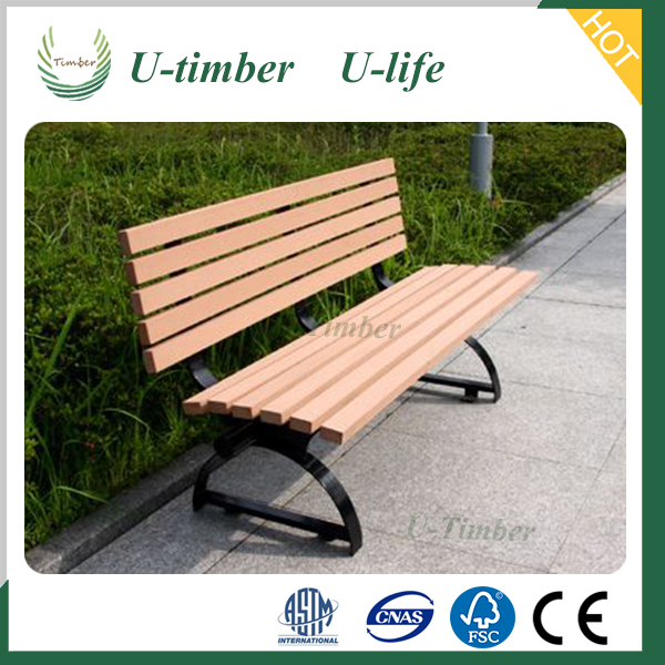 WPC garden bench, outdoor chair