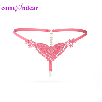 ec9d771c4 Latest High Quality Six Color Sexy Xxx Pearl Thong Slim Panties - Buy ...