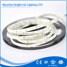 Hot selling 2835 flexiable strips 24V 60led each meter Green color led strip ip65
