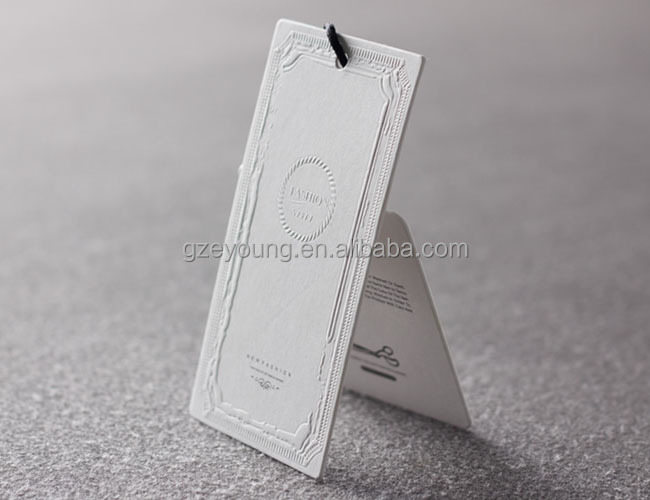 New Style Paper Uv Swing Tags/swing Tags For Clothing/jeans Paper Hang Tag