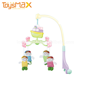 Waterproof Skin-Friendly Bed Handing Plastic Baby Rattle