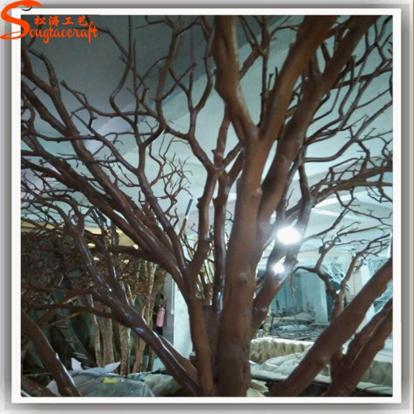 Artificial Tree No Without Leaves White Branches For