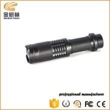 High Power LED Torch XML T6 LED Flashlight Zoomable Torch light camp 3 modes tactical Flashlight