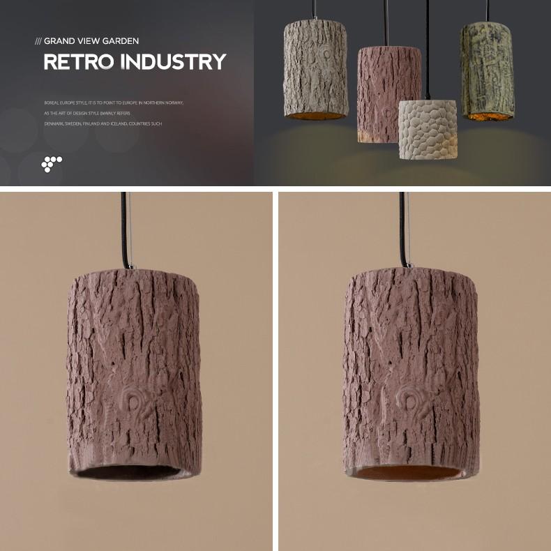 2016 Loft Pendant Lights Cement Art Hanging Lamp Modern Fancy ...